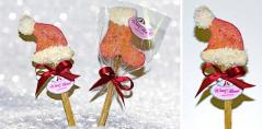 Santa's Cookie Pops